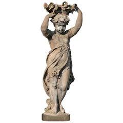 Sculpture Cast Iron, 19th Fountain, Fountain