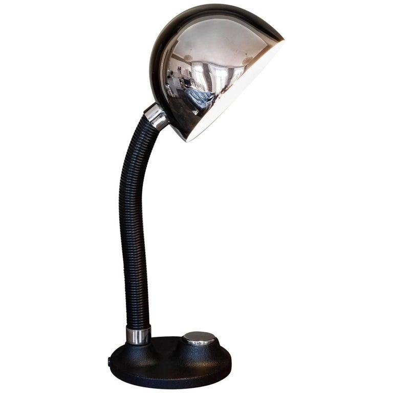 Vintage 1950s German Hillebrand Adjustable Desk Lamp