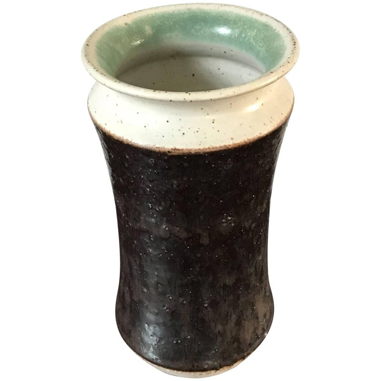 1970s Bruno Gambone Italian Ceramic Vase