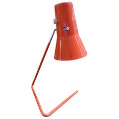1950s Modern Bauhaus Lamp by Josef Hurka for Drupol-Praha, Czech