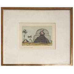 Arnold Leissler Etchings
