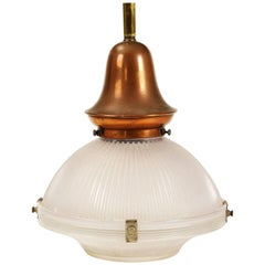 Holophane Pendant Lamp from the 1930s