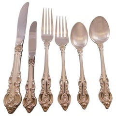 El Grandee by Towle Sterling Silver Flatware Set for 8 Service 55 Pieces