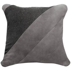 ELAH Wool and Suede Pillow