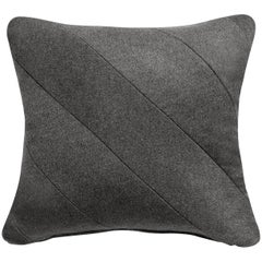 OHME Wool and Suede Pillow