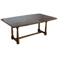 Vintage English Drop-Leaf Table
