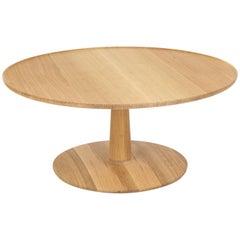 Summer Studio Large White Oak Lotus Table
