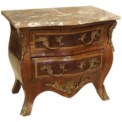 Miniature Antique Chest of Drawers from France, circa 1880