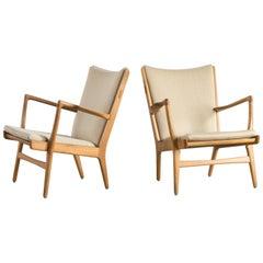 Pair of Hans J. Wegner AP16 Armchairs for AP-Stolen