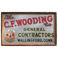 Vintage Trade Sign Connecticut