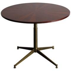 1950s Ignazio Gardella Italian Mahogany Midcentury Modern Table for Azucena