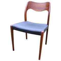Niles O. Møller #71 Teak Dining Chair