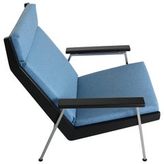 """Rob Parry """"Lotus"""" Easy Chair New Upholstery, 1960s"""