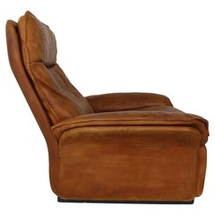 De Sede Vintage Cognac Leather Lounge Chair, 1970s