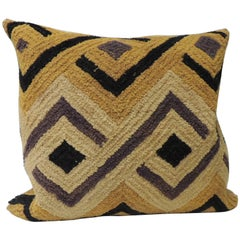 Tribal Vintage Woven African Decorative Square Pillow