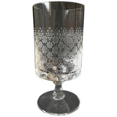 Romanze White Wine Glass by Bjorn Wiinblad, Rosenthal