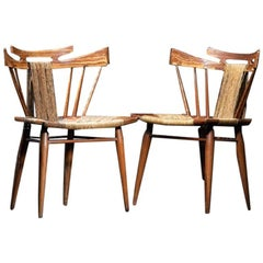 Pair of Edmond Spence Chairs, Mexico, circa 1950