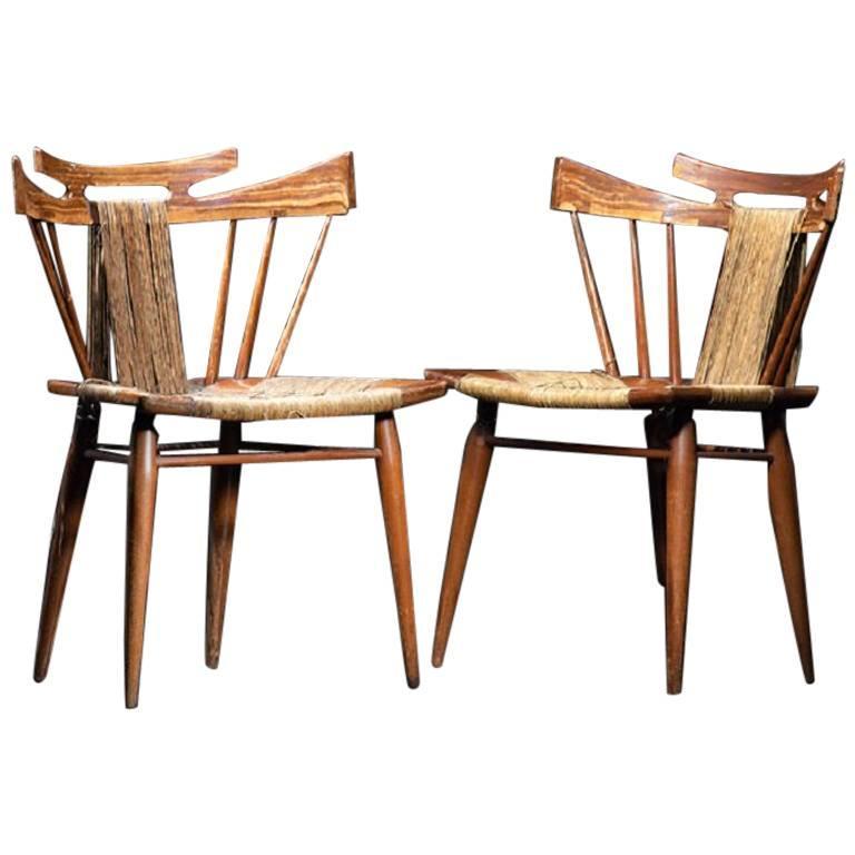 Pair of Edmond Spence Chairs, Mexico, circa 1950