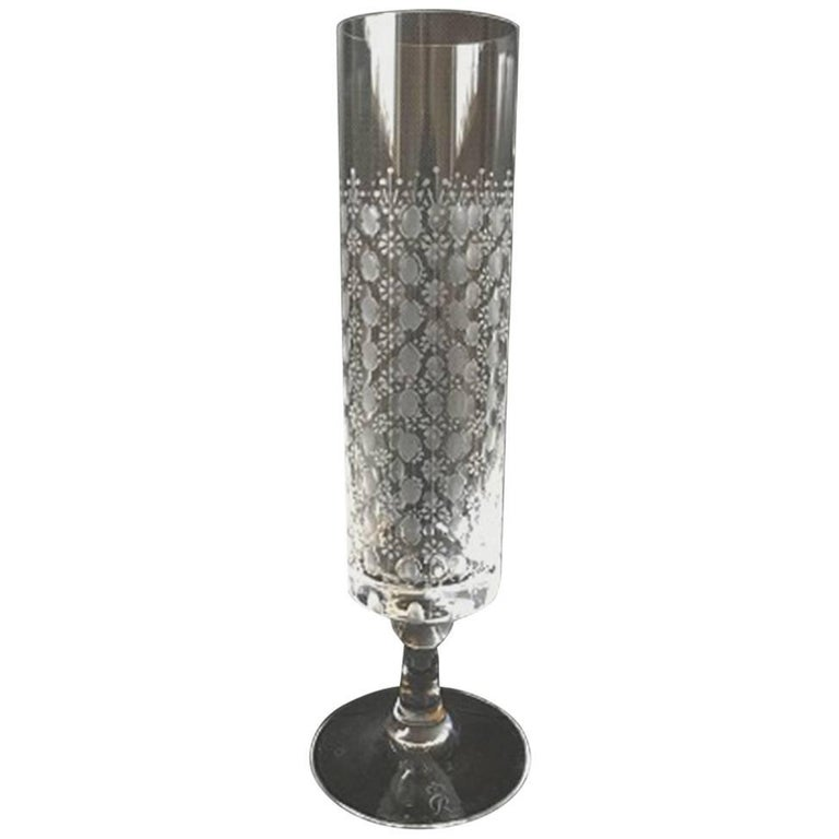 Romanze Champagne Flute by Bjorn Wiinblad, Rosenthal For Sale