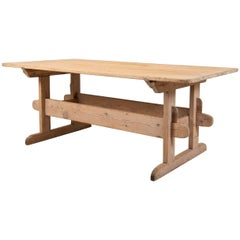 19th Century Swedish Farm Table