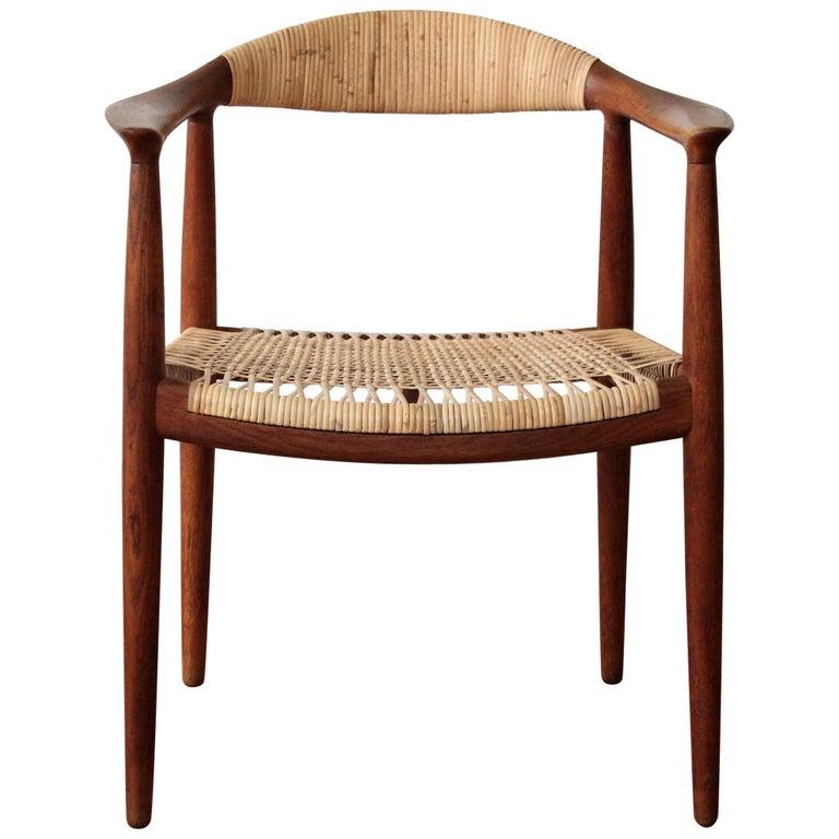"""Hans Wegner """"The Chair"""" Hans Model JH 501 For Sale"""