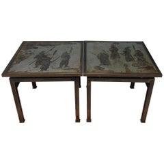 Pair of Laverne Side Tables