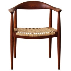 "Hans Wegner ""The Chair"" Hans Model JH 501"