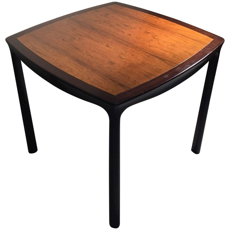 Elegant Edward Wormley Dinette Table in Rosewood for Dunbar