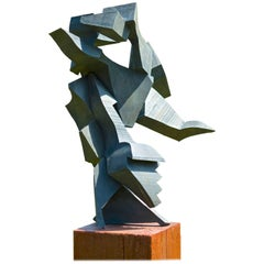 Medium Diagonal Bronze by Mel Kendrick, 2/3, 1988