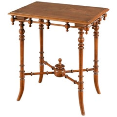 19th Century Aesthetic Movement Table
