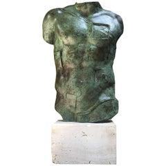 "Igor Mitoraj ""Perséé"" Bronze Torso, 1988"