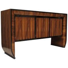 1930 Rectangular Walnut Italian Sideboards