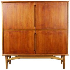 Danish Design Highboard or Cabinet by Borg Mogensen for Fredericia, 1950s Teak