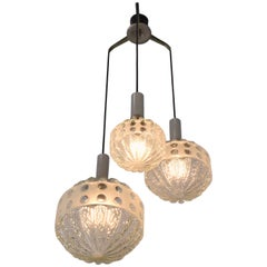 20th Century French Vintage Pendant Light, 1970s