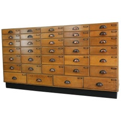 Large Mirror Fronted Haberdashery Drawers, circa 1930s