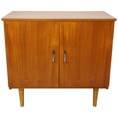 Wooden Teak Storage Unit from the 1950s-1960s