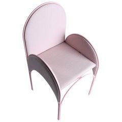 Hawa Beirut Fully Upholstered Pink Chair by Richard Yasmine