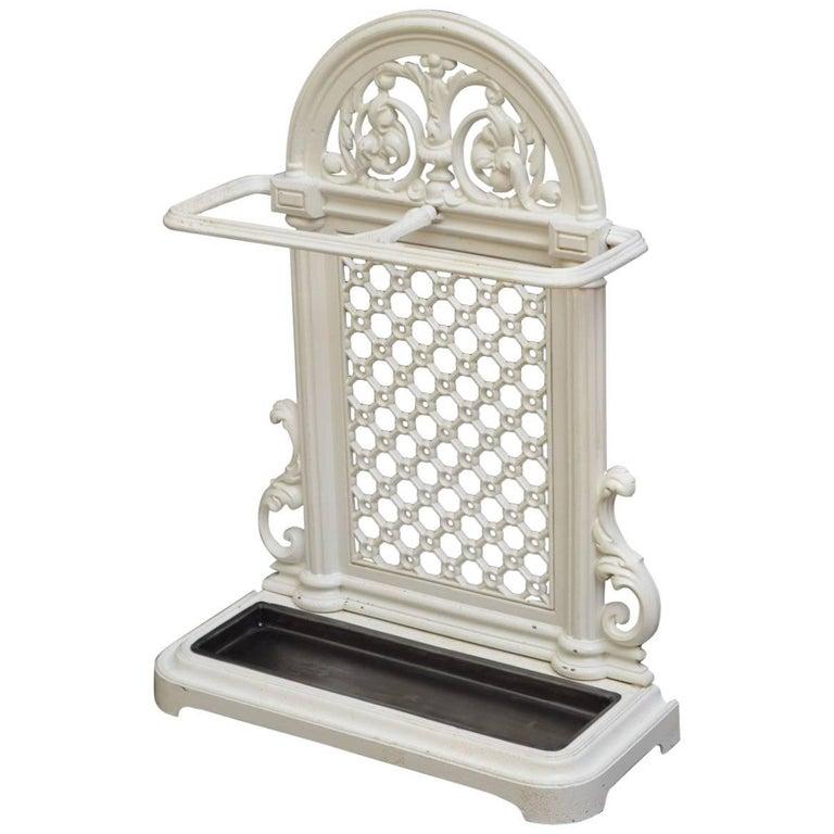 Stylish Victorian Cast Iron Umbrella Stand