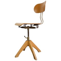 Ergonomic Sprung Chair by Polstergleich, circa 1950s