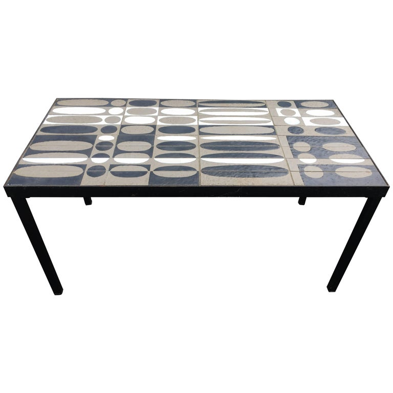 Capron Ceramic Coffee Table