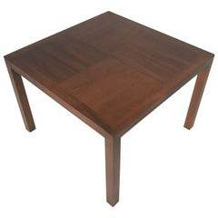 Lane Walnut Coffee Table with Contrasting Grain Walnut Top