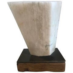 British 1960s Abstract Marble Sculpture
