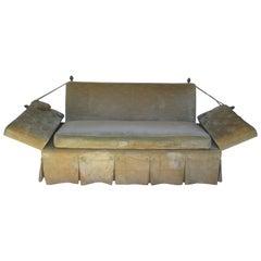 Classic Vintage Knole Drop Arm Sofa