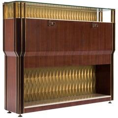 Bar Cabinet by Vittorio Dassi for Consorzio Esposizione Mobili Cantù