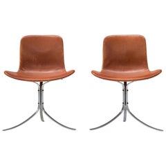 PK9 Chairs by Poul Kjaerholm for E. Kold Christensen
