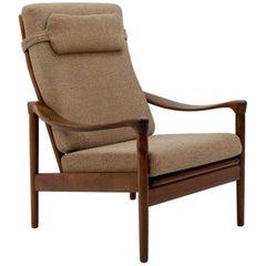 Teak Lounge Chair, De Ster Gelderland, 1950s