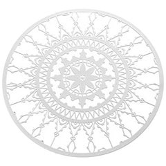 Italic Lace White Finish Coaster 'Set of Four' by Galante & Lancman for Driade
