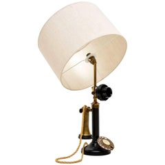 Vintage Telephone Table Lamp