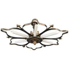 Bronze Ceiling Lamp