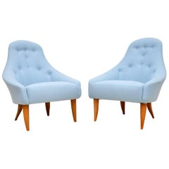 1960s Pair of Swedish 'Paradiset' Armchairs by Kerstin Horlin Holmquist